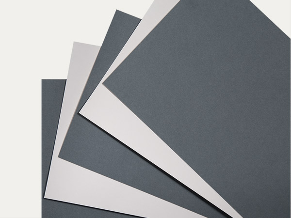 Archival paper: 047 grey-blue / 048 light grey
