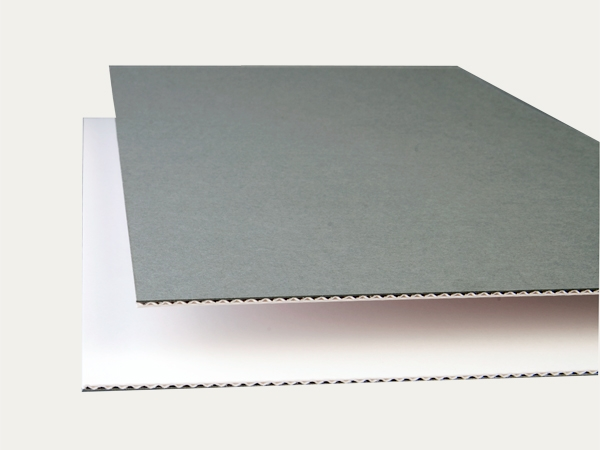 Corrugated boards: MW 1.7 mm