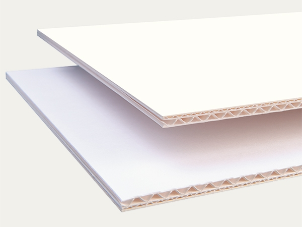 Corrugated boards: EB 5.0 mm