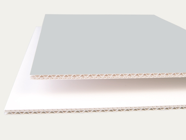 Corrugated boards: EB 4.5 mm
